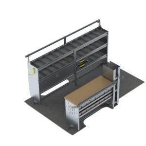 Mobile-Service-Van-Shelving-Package-Nissan-NV-Lo-Roof-K216
