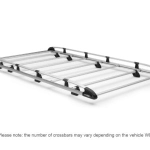 Cargo+ rack for vans, 220 lbs weight capacity, 6 crossbars, RAM ProMaster. Model: 1506-PC.